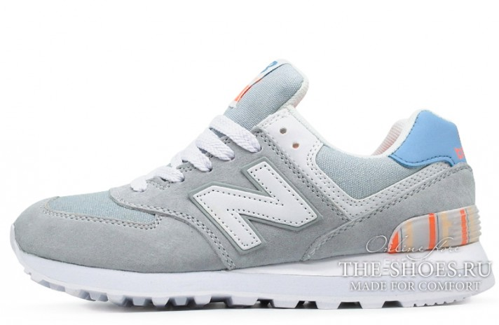 Кроссовки New Balance 574 Light Gray White