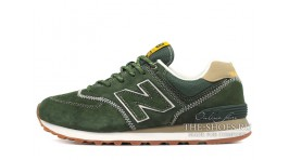 New Balance 574 Tropic Green зеленые