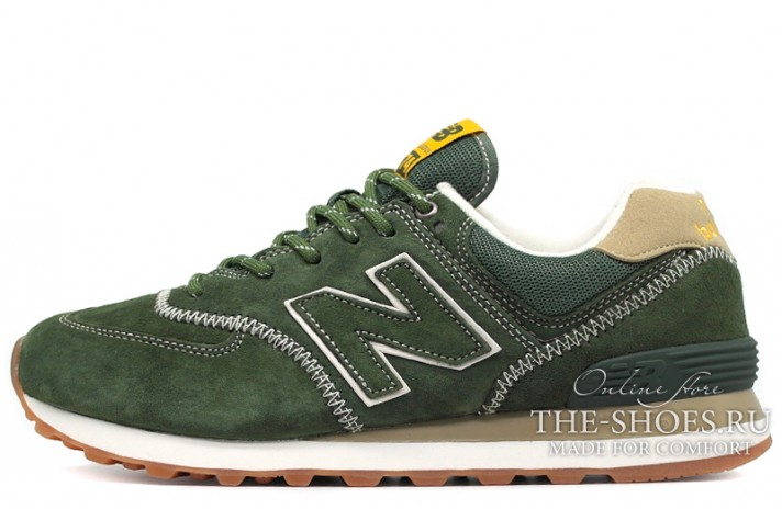 Кроссовки New Balance 574 Tropic Green