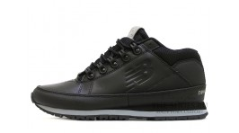 New Balance 754 leather black bandit черные кожаные