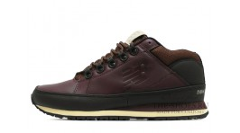 New Balance 754 leather chestnut bordo бордовые кожаные