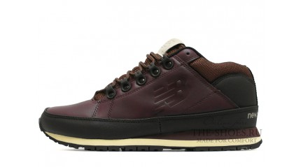New Balance 754 leather chestnut bordo