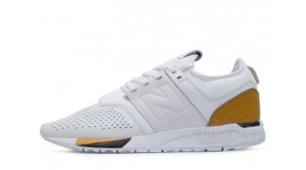 247 КРОССОВКИ МУЖСКИЕ<br/> NEW BALANCE 247 LUXE PACK WHITE LEATHER