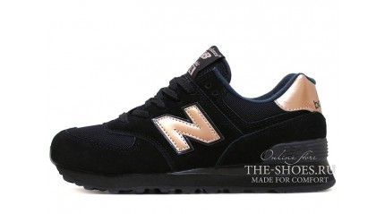 New Balance 574 Black bronze