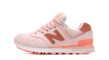 New Balance 574 Marshmallows pink