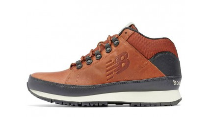 New Balance 754 leather toffee red