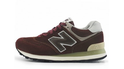 New Balance ML574VB Wine Red Dark