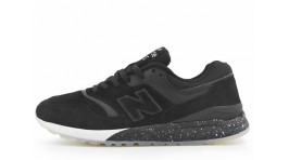 New Balance ML997.5HBA Black Suede черные