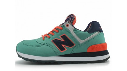 New Balance WL574IBL Mint Green