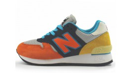 New Balance 670 Yellow Orange Blue разноцветные