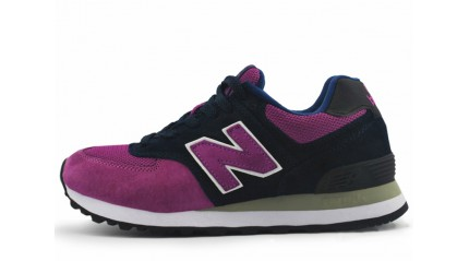 New Balance 574 Purple Grapes Dark Blue