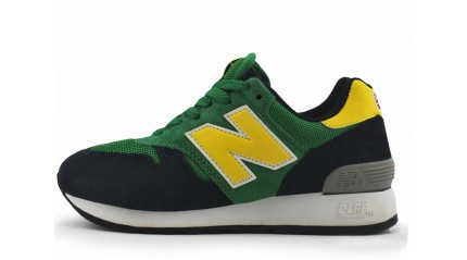 670 КРОССОВКИ ЖЕНСКИЕ<br/> NEW BALANCE M670BGY GREEN BLUE YELLOW