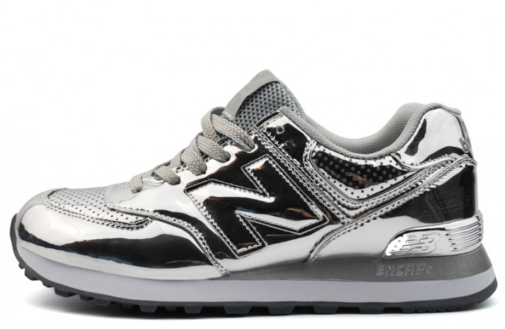 0462f80b3b51 Купить New Balance 574 Silver Hologram Light - серебристые