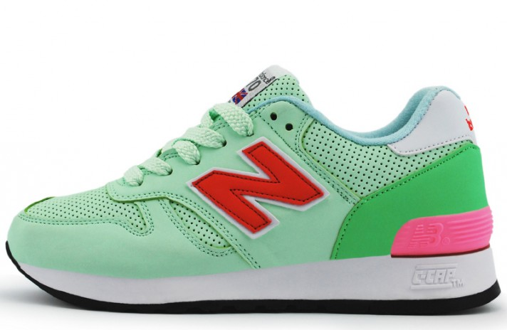 New Balance W670BTK Green Light зеленые, фото 1