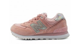 New Balance WL574CIC Faded Rose Overcast розовые