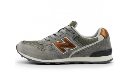 996 КРОССОВКИ ЖЕНСКИЕ<br/> NEW BALANCE WR996DGR GRAY BRONZE-GOLD