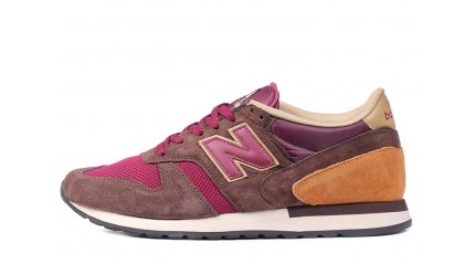 New Balance M770OCT Brown Bordo