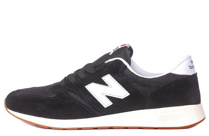 New Balance MRL420SD Black White черные