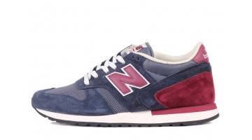 Кроссовки Мужские New Balance M770ABB Blue Dark Bordo