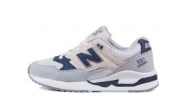 New Balance W530SD White Blue белые