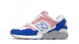 New Balance ML878AAR Blue Pink White белые