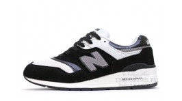 New Balance 997 Black White черные