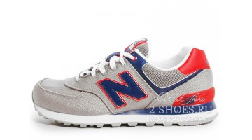 Кроссовки Женские New Balance ML574PPG Silver Grey Blue