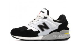 New Balance ML878BG White Black белые черные