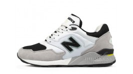 New Balance ML878GW White Gray Black белые серые