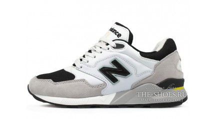 New Balance ML878GW White Gray Black
