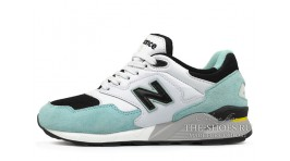 New Balance 878 White Mint Black белые