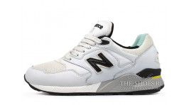 New Balance ML878WW White Black белые