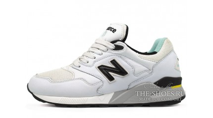 New Balance ML878WW White Black