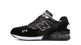 New Balance ML878AAP Black White черные