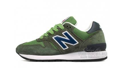 New Balance M670FON Green Blue