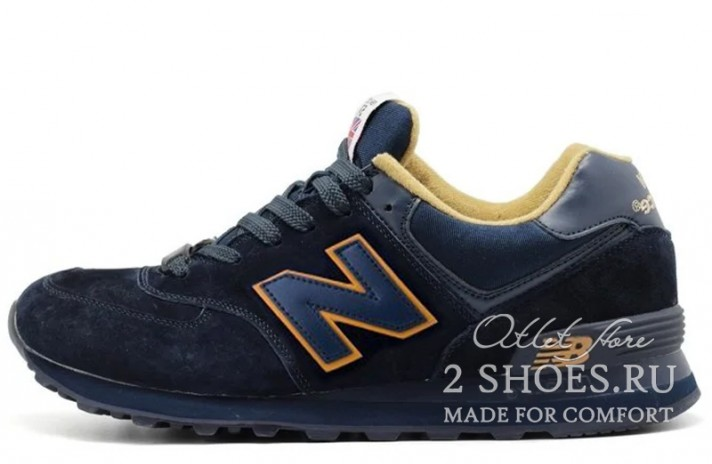 Кроссовки New Balance 574 Blue Deep Toffy