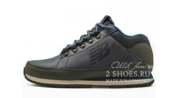 Ботинки мужские New Balance 754 leather Blue Dark