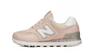 Кроссовки Женские New Balance WL574ESP Pink Core Plus