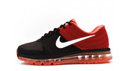 Air Max 2017 КРОССОВКИ МУЖСКИЕ<br/> NIKE AIR MAX 2017 KPU FIERY RED BLACK