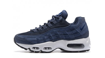 Nike Air Max 95 Dark Navy Blue Off White
