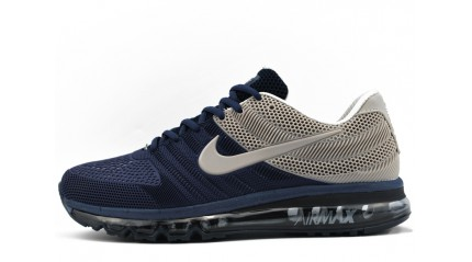 Air Max 2017 КРОССОВКИ МУЖСКИЕ<br/> NIKE AIR MAX 2017 KPU BLUE DARK GRAY