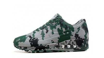 Air Max 90 КРОССОВКИ ЖЕНСКИЕ<br/> NIKE AIR MAX 90 VT MILITARY PIXEL GREEN