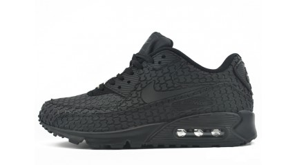 Air Max 90 КРОССОВКИ МУЖСКИЕ<br/> NIKE AIR MAX 90 BLACK RUBBER SCALES