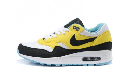 Air Max 1 КРОССОВКИ ЖЕНСКИЕ<br/> NIKE AIR MAX 87 BLACK YELLOW WHITE