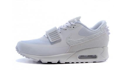 Air Max 90 КРОССОВКИ МУЖСКИЕ<br/> NIKE AIR MAX 90 YEEZY PURE WHITE GREEN