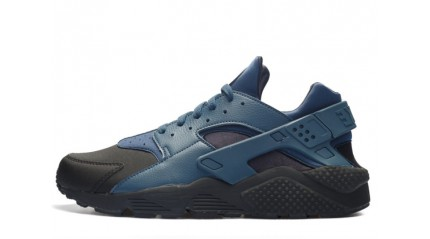 Huarache КРОССОВКИ МУЖСКИЕ<br/> NIKE AIR HUARACHE SQUADRON BLUE LEATHER