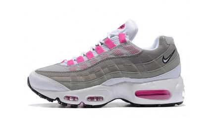Nike Air Max 95 Gray White Emerald Pink