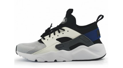 Huarache КРОССОВКИ МУЖСКИЕ<br/> NIKE AIR HUARACHE ULTRA BR WHITE RACER BLUE