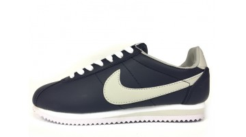 Кроссовки Мужские Nike Cortez Leather Dark Blue White