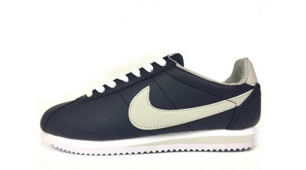 Nike Cortez Leather Dark Blue White